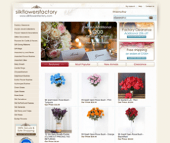 Silk Flowers Factory Promo Codes 2018