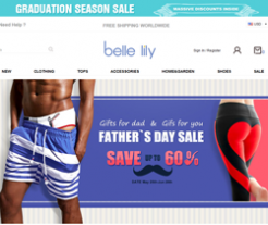 Bellelily Promo Codes 2018