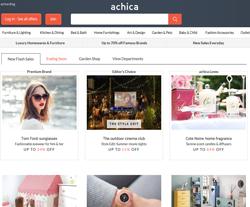 Achica Discount Code 2018