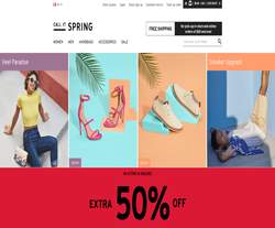 Call It Spring Promo Codes 2018