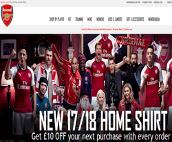 The Arsenal Direct Discount Codes 2018