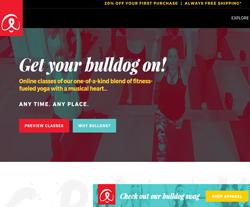 Bulldog Yoga Promo Codes 2018