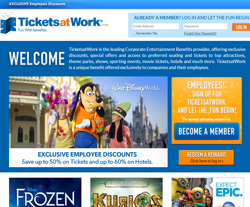 Tickets At Work Promo Codes 2018