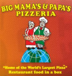 Big Mama's & Papa's Pizza Coupons