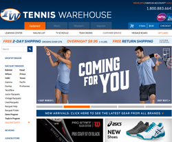 Tennis Warehouse Coupon Codes 2018