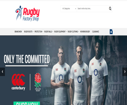 Rugby Factory Shop Discount Codes 2018