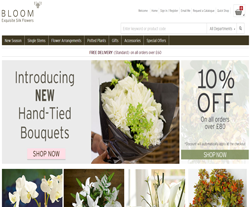 Bloom Exquisite Silk Flowers Discount Code 2018