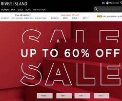 River Island Discount Codes 2018