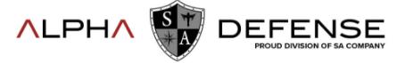 Alpha Defense promo codes