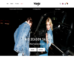 Wrangler UK Discount Code 2018