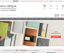 Milligram Coupon 2018
