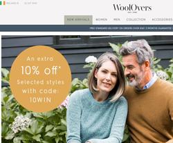 WoolOvers Ireland Promo Codes 2018