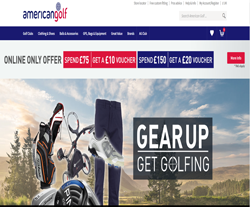 American Golf Coupon 2018