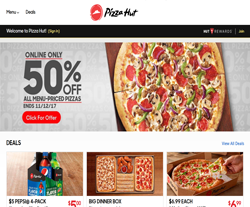 Pizza Hut Coupons 2018