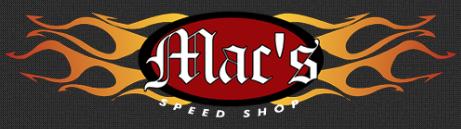 Mac's Speed Shop Coupons