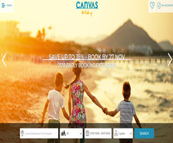 Canvas Holidays Voucher Code 2018