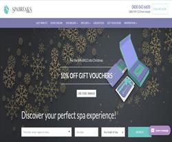 SpaBreaks.com Discount Code 2018