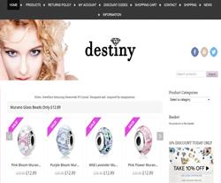 Destiny Jewellery Discount Code 2018