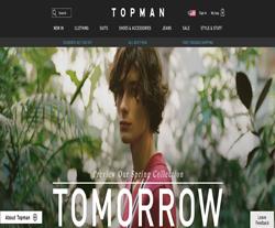 Topman US Promo Codes 2018