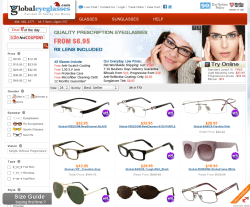 Global Eyeglasses Coupon 2018