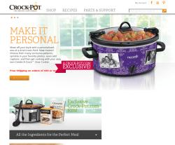 Crock-Pot Coupon 2018