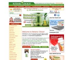 Botanic Choice Coupon 2018