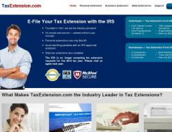 TaxExtension.com Coupon Codes 2018