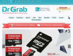 Drgrab Australia Promo Codes 2018