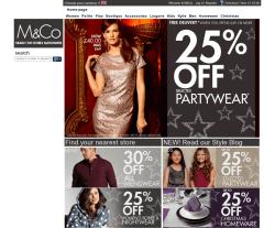 M&Co Discount Code 2018