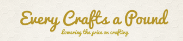 Every Crafts A Pound discount code