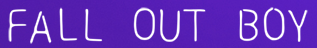 Fall Out Boy discount code