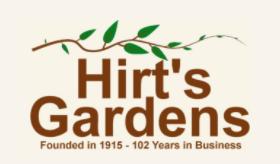 Hirt's Garden Coupon Codes
