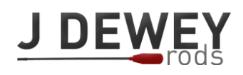 J Dewey Rods coupons