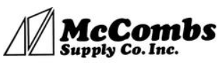 McCombs Supply Promo Codes