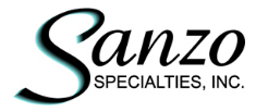 Sanzo Specialties coupon