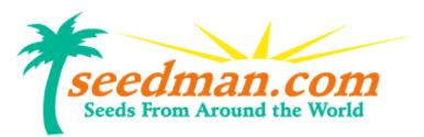 Seedman coupon codes
