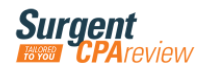 Surgent CPA Review coupon codes