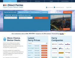 Direct Ferries Discount Code 2018