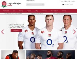 England Rugby Store Discount Code 2018