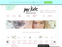 Mr.Kate Promo Codes 2018