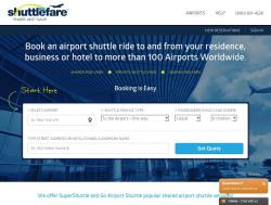 ShuttleFare Coupons 2018