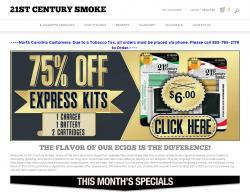 21st Century Smoke Promo Codes 2018