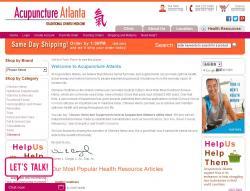 Acupuncture Atlanta Promo Codes 2018