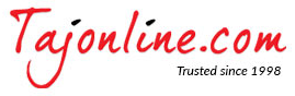 TajOnline coupon