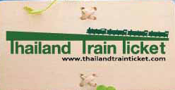 Thailand Train Ticket Coupons