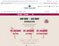 Tom-tailor Promo Codes 2018